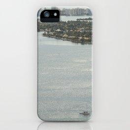 Biscayne Bay Skyline iPhone Case