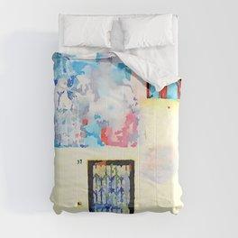 Door windows and murals Comforters