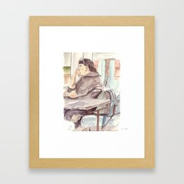 into the north Framed Art Print