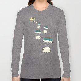 Sheepy clouds Long Sleeve T-shirt