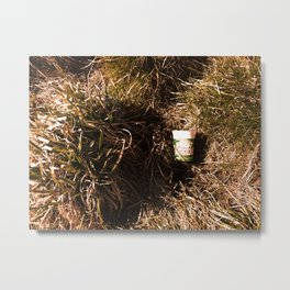 Consume/Dispose Metal Print