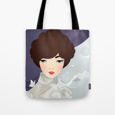 The Wings of the Dove: Violet Tote Bag