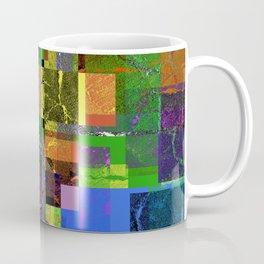 Colorful layered pattern 2 Coffee Mug