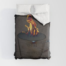 for coffee lovers only Comforters