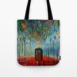 TARDIS ALONE Tote Bag