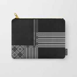 Multiple Black White Geometric Patterns Carry-All Pouch