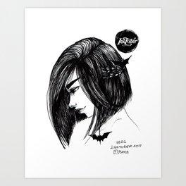 Inktober 2017 26 Art Print