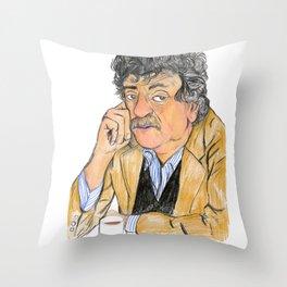 Vonnegut Throw Pillow