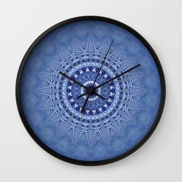 Mandala Jeanslook Wall Clock
