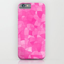 Geometric Shapes Fragments Pattern 2 mag iPhone Case