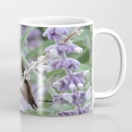 Ms. Hummingbird's Break Time in Mexican Sage Coffee Mug