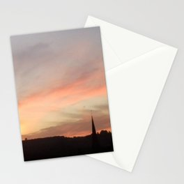 Sunset 503 on Ranmore near Dorking (North Downs) Stationery Cards