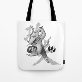 KungFu Zodiac - Dragon Tote Bag
