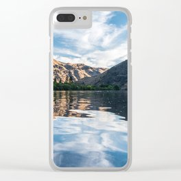 Snake River at Dawn Clear iPhone Case