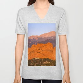 Beautiful Kissing Camels Colorado Spring Unisex V-Neck