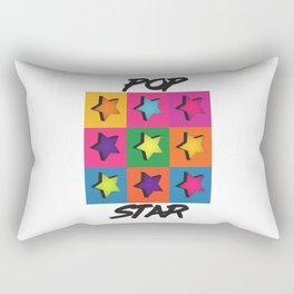 Pop Art Star Rectangular Pillow