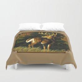 Whitetail Deer Trophy Buck Duvet Cover