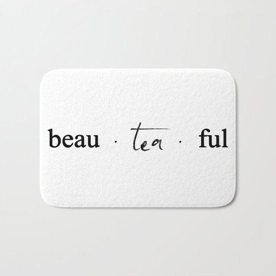Beau.tea.ful Bath Mat