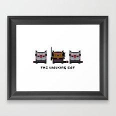 The Walking Cat - Meowchonne Framed Art Print