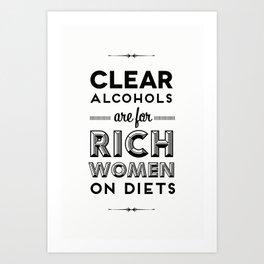 Rich Women Art Print