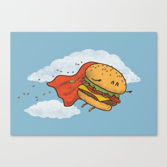 Superburger! Canvas Print