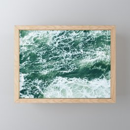 Emerald Sea Framed Mini Art Print