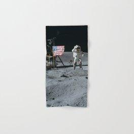 Apollo 16 - Astronaut Moon Jump Hand & Bath Towel