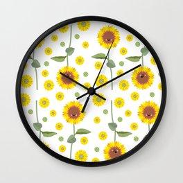 """""""Emo Girasol"""" Wall Clock"""