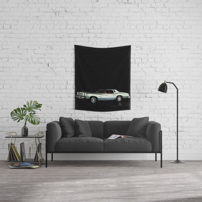 1976 Chevrolet Monte Carlo Wall Tapestry