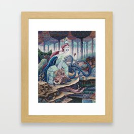 The Good Listener Framed Art Print