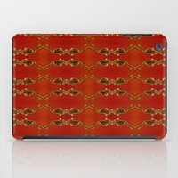 ashton irwin iPad Cases featuring Influenza C Tapestry by Alhan Irwin by Microbioart