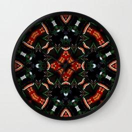 Tribal Dance  Wall Clock