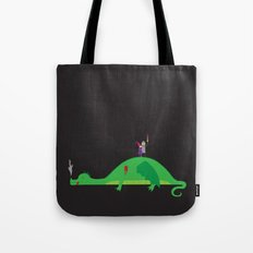 Knight in Shining Tin Foil Tote Bag