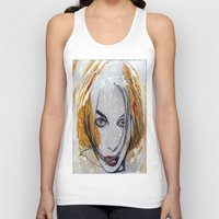 blondie Tank Tops featuring Blondie by Capracotta Art