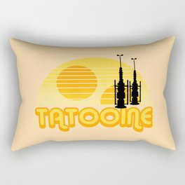 Serene Tatooine Rectangular Pillow