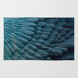 Ombre wings Rug