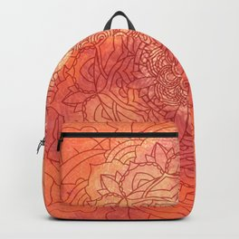 Autumn Mandala Pattern Backpack