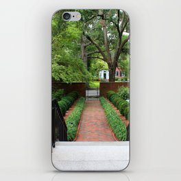 View From The Portico iPhone Skin