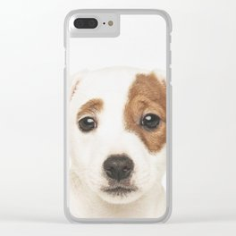 Jack Russell Puppy Clear iPhone Case