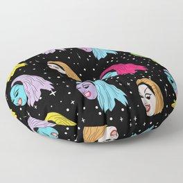 Divine Is A Punk Rocker Floor Pillow