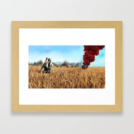 PUBG 02 Framed Art Print