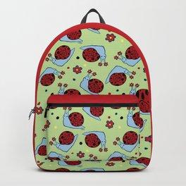 Ladybug Snail Backpack