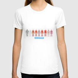 Pixel Iron Men T-shirt