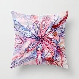 Circulatory System Throw Pillow