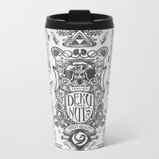 Legend of Zelda inspired Deku Nuts Vintage Advertisement Metal Travel Mug
