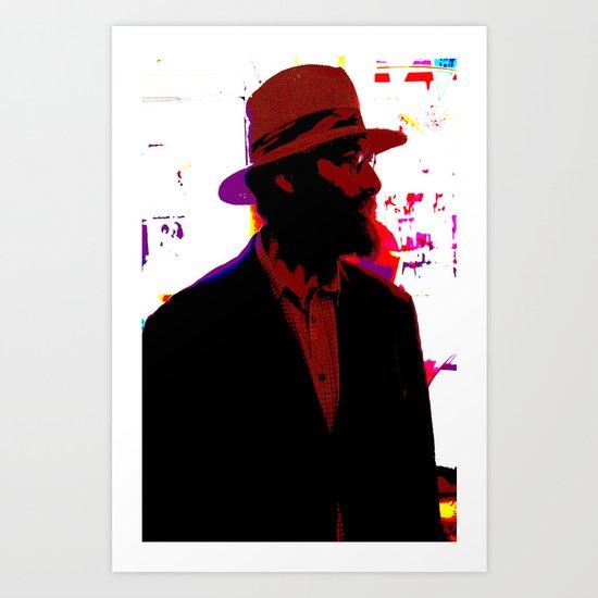 Cotton Club Rabbi's Day Off Art Print