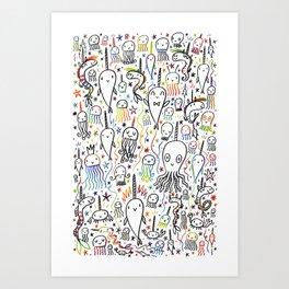 SEA-PLOSION Art Print