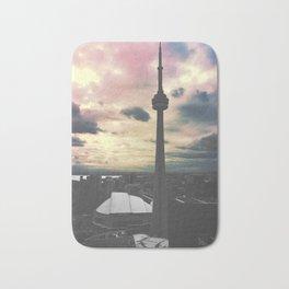 Toronto CN Tower Color Split Bath Mat