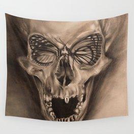 ButterSkull Wall Tapestry