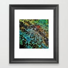 Abstract Rough Texture Framed Art Print